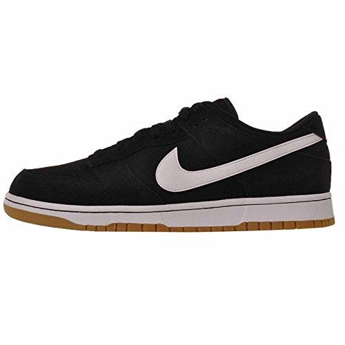 NIKE Dunk Low Canvas Herren Aa1056 Sneakers Turnschuhe (UK 9 US 10 EU 44, Black White 001)