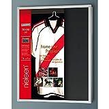 Nielsen Aluminium Wechselrahmen FrameBox, 70 x 90 cm, Silber matt, Acrylglas