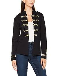 Only Onlanette L/S Jacket Swt, Veste Sweat Femme
