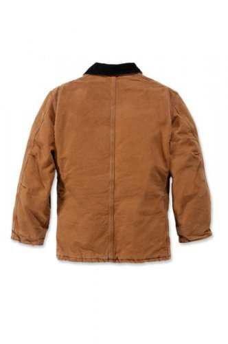 Carhartt EC026 Sandstone Traditional Coat dark brown Dunkelbraun