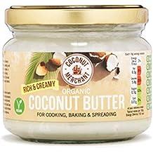Coconut Merchant Bio-Kokosbutter - Reichhaltig und cremig 300 ml