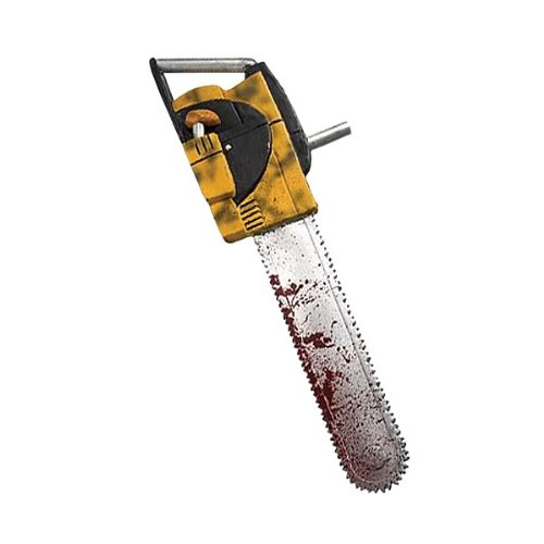 Leatherface Kettensäge mit Sound - Texas Chainsaw Massacre - Horror Halloween (Original Kostüm Leatherface)