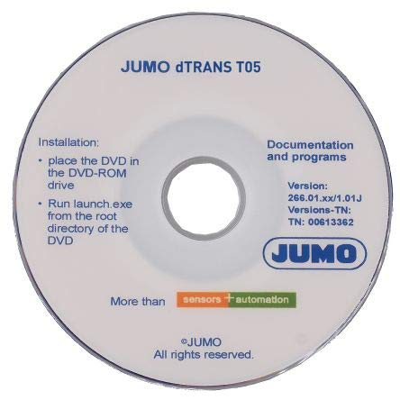 Jumo Software Software for use w...