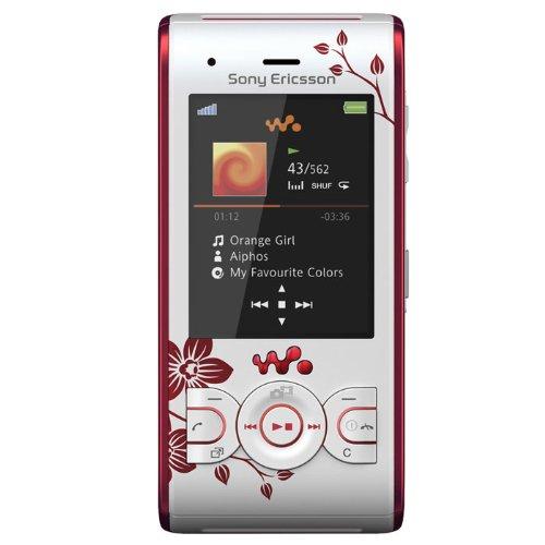 Sony Ericsson W595 Handy (Bluetooth, 3.2MP, 2GB Memory Stick, Walkman, UKW-Radio) Flower-Edition Sony Ericsson Box