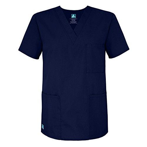 Tag Kostüm Medicale - Medizinische Uniformen Unisex Top Krankenschwester Krankenhaus Berufskleidung 601 Color Nvy | Talla: 5X