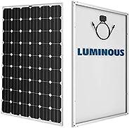 Luminous Mono Crystalline Solar Panel 370 Watt- 24 Volt