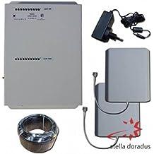 AMPLIFICATORE RIPETITORE STELLAHOME DUAL BAND SEGNALE CELLULARE GSM E UMTS