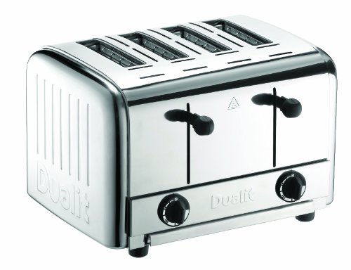 Dualit 49910 Catering Pop-up Toaster / Chrom / 2700 Watt / 120 Scheiben pro Stunde