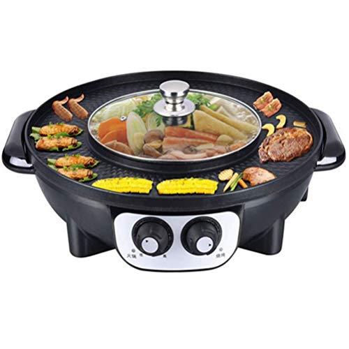 Xinyexinwang Hot Pot versátil, multifunción, Interruptor de Control Dual, Calentamiento de Olla...