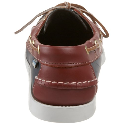 Sebago Spinnaker, A Bout Rond Homme Multicolore (Navy/Red)