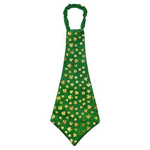 ige Überdimensional Neuheit Kleeblatt Krawatte (St Patricks Tag T-shirts)