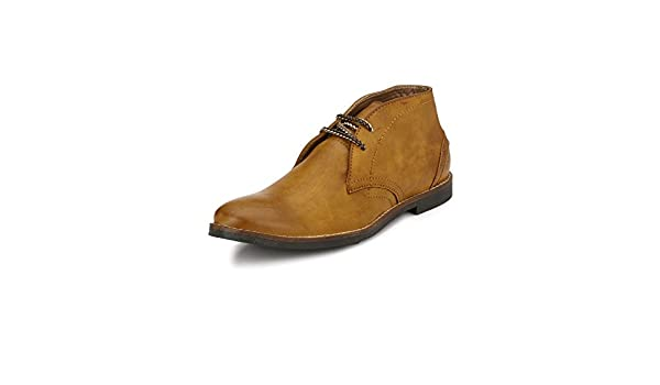 Tan Manuel Ford Casual Boots at Amazon
