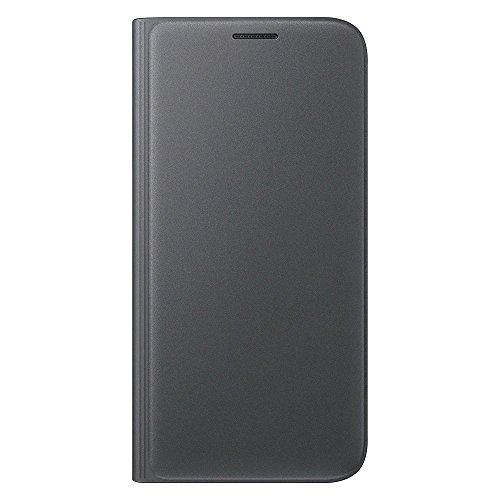 Samsung Flip Wallet Schutzhülle (geeignet für Galaxy S7) schwarz - Samsung Galaxy Wallet