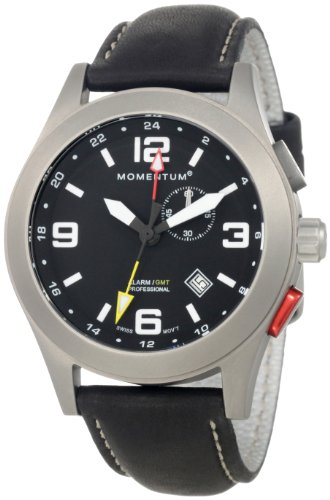 Momentum-Vortech-GMT-Mens-Quartz-Watch-with-Black-Dial-Analogue-Display-and-Black-Leather-Strap-1M-SP58B2B