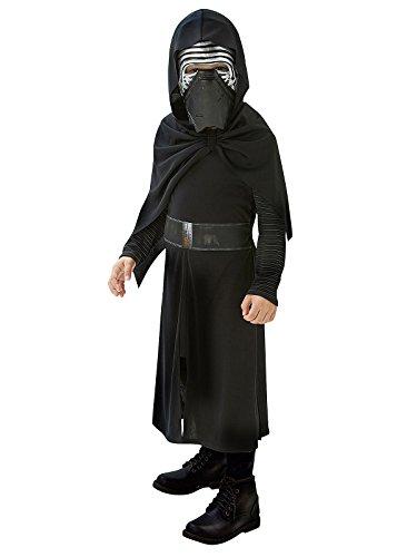 Kylo Ren Star Wars Kinderkostüm Lizenzware schwarz silber 128