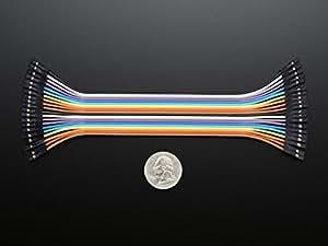 """Adafruit Premium Female/Female Jumper Wires - 20 x 6"""" (150mm) [ADA1950]"""