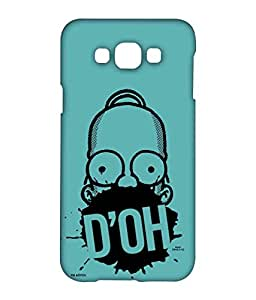Simpsons - D'OH Teal - Case for Samsung Galaxy A8