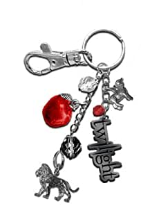 "Twilight ""Lion and Lamb"" Keyring/ Bagclip"