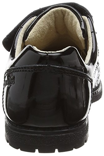 pediped Stevie, Brogues Fille Noir - Black (Black Patent)