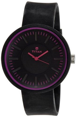 Titan Youth Analog Black Dial Women's Watch -  9953PP02J