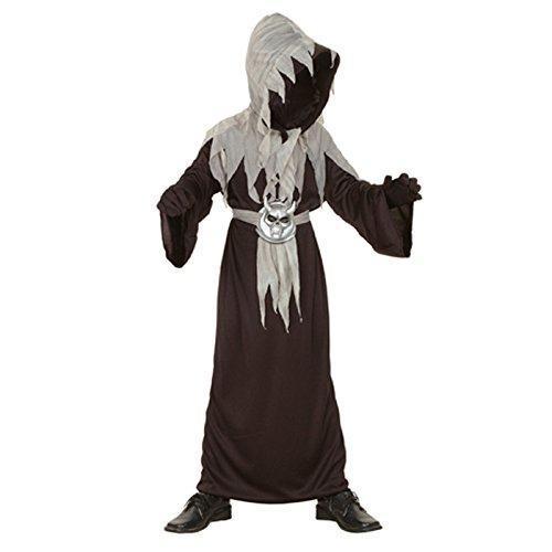 NEU Kinderkostüm Schwarzer Dämon, 7-9 (Dämon Kinder Kostüm Für)