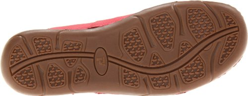 Propet Robin Large Cuir Chaussure de Marche red