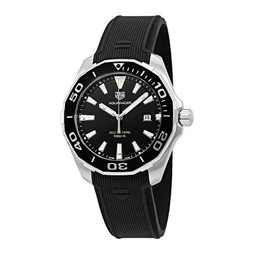 TAG Heuer Aquaracer Homme 43mm Noir Quartz Montre WAY101A.FT6141