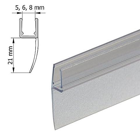 DUSAR Proof Lip Bumpers Frame Universal Sealing Strip Seal Vertical