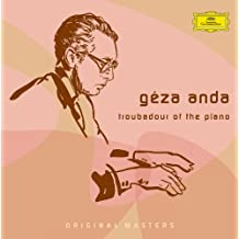 Géza Anda: Troubadour Of The Piano (5 CD's)