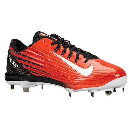Nike Men's Lunar Vapor Pro Orange/Black Baseball Cleats 683895 810 Size 10.5 -