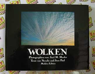 Wolken. Texte von Novalis und Jean Paul.