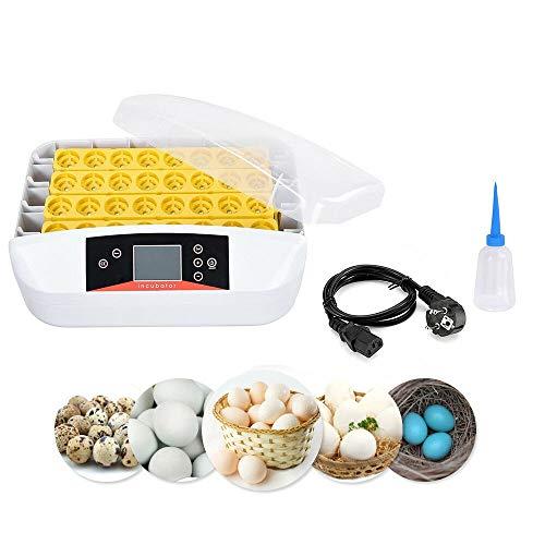 SHIOUCY 32 Eier Geflügel Eier Inkubator Brutkasten Brutapparat Brüter Brutmaschine 80W