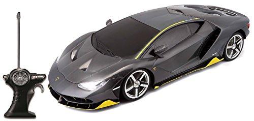 Maisto Tech R/C Lamborghini Centenario: Ferngesteuertes Auto im Maßstab 1: 14, mit Pistolengriff-Steuerung, Hinterradantrieb, ab 8 Jahren, 32 cm, grau (581275) -