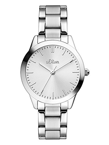 s.Oliver Damen-Armbanduhr SO-3438-MQ