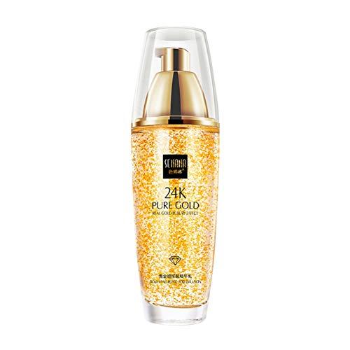 OYOTRIC 24k Gold Moisturizing Lotion Feuchtigkeitsspendende straffende Haut Glatte, feine Linien...