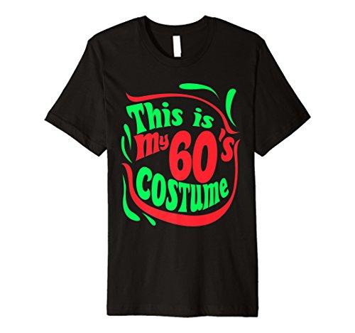 n Kostüm T-shirt 1960s Retro 60er Jahre ()