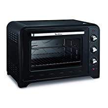 MOULINEX FOUR ELECTRIQUE A CONVECTION OPTIMO 60L Noir 7 Modes de Cuisson pain pizza tartes gateaux patisseries YY2917FB