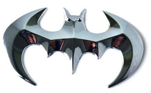Abzeichen Auto (SKS Distribution® Chrom batman Auto Emblem Abzeichen Aufkleber 3D harten, festen Metall, schwere und hohe Qualität.)