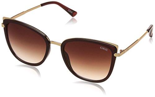 IDEE Gradient Square Women\'s Sunglasses - (IDS2249C2SG|55|Brown Gradient Color)