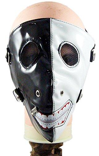 Wei zhe Herren und Damen New Schwarz und Weiß Pasta Ghoul Punk Rock Hit Nail Maske