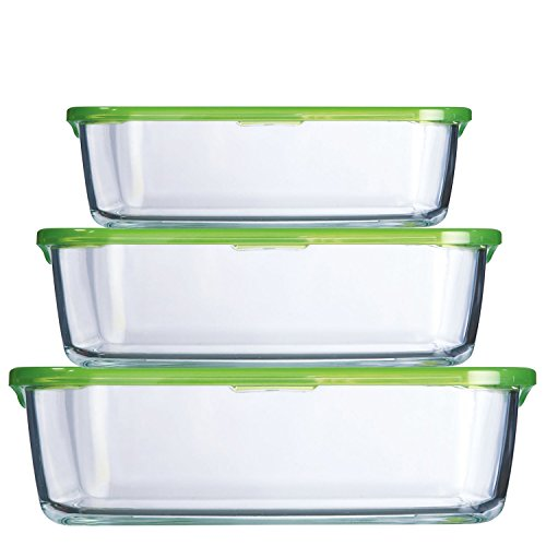 Gläser Aufbewahrungsboxen aufbewahrung glas amazon de