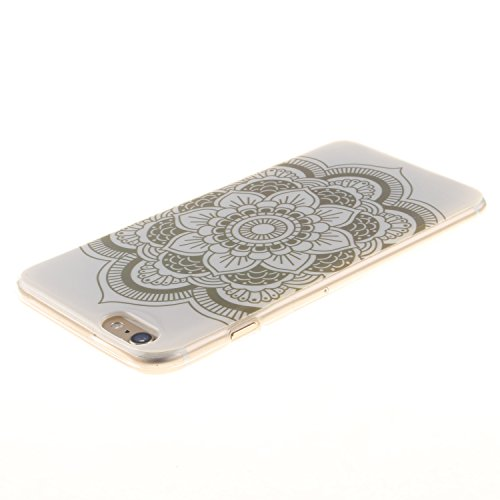 iPhone 6S Plus Hülle,iPhone 6 Plus Silikon Case - Felfy Exklusive Ultra Thin Leicht Gel TPU Silikon Weiche Hülle Gemalt Muster Design Pattern Protektiv Case Skin Back Cover Tasche Anti Finger Kratzer  ErdBlume Hülle