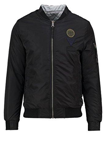 Preisvergleich Produktbild CHASIN' JUDGE Herren Bomberjacke Wendejacke Jacke schwarz GR: S