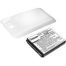 Akku-King Batterie pour Samsung Galaxy Note 2 GT-N7100, Note 2 LTE 32GB GT-N7105 - 6200 mAh - Li-Ion