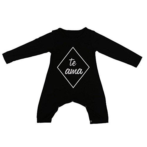 Per 2-7 anni,Amlaiworld Neonato pagliaccetto tuta abbigliamento per bambini (70)