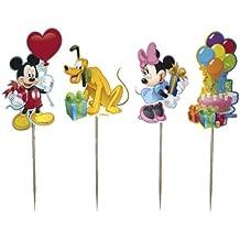 Dekoback 01–14–00731Muffin Juego de Mickey Mouse, 48Piezas