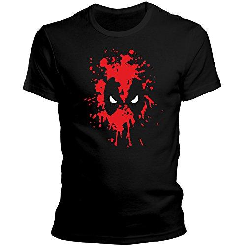 ZDesignONE Deadpool Comic Hero T-Shirt XS-4XL Edition 4 (XXL) (Beste Deadpool Comics)