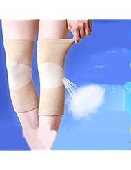 Super Stretch à manches genou soulager la douleur chaud Cachemire Genouillère Protections de genoux pour genouillères thermiques pour l'arthrite tendinite d'hiver