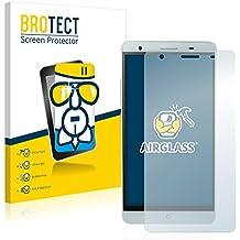 BROTECT AirGlass Protector Pantalla Cristal Flexible Transparente para Mlais M7 Plus Protector Cristal Vidrio - Extra-Duro, Ultra-Ligero, Ultra-Claro