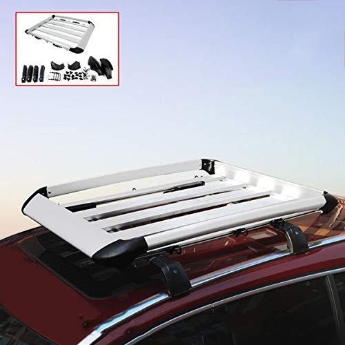 ZQQ Dachgepäckträger, Gepäckträger Für Gepäckkorb, Dachgepäckträger Aus Aluminiumlegierung Für Geländewagen, Geländewagen